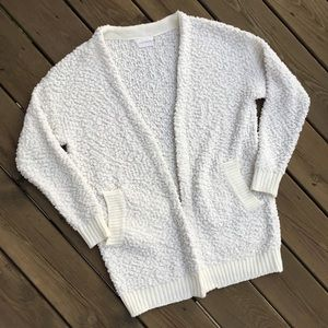 Dreamers by Debut nubby chenille cardigan, Large